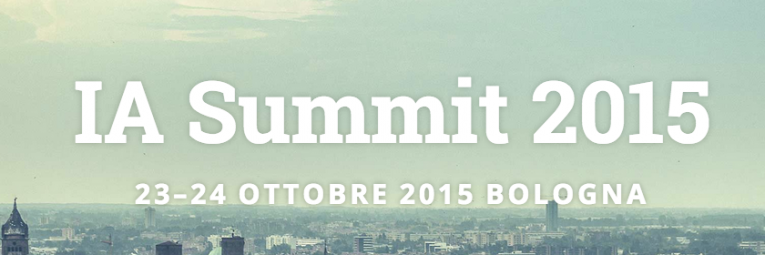 IA SUMMIT 2015 - Architecta